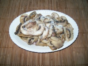 mushrooms 300x225 Mushrooms   i funghi fritti col formaggio parmigiano